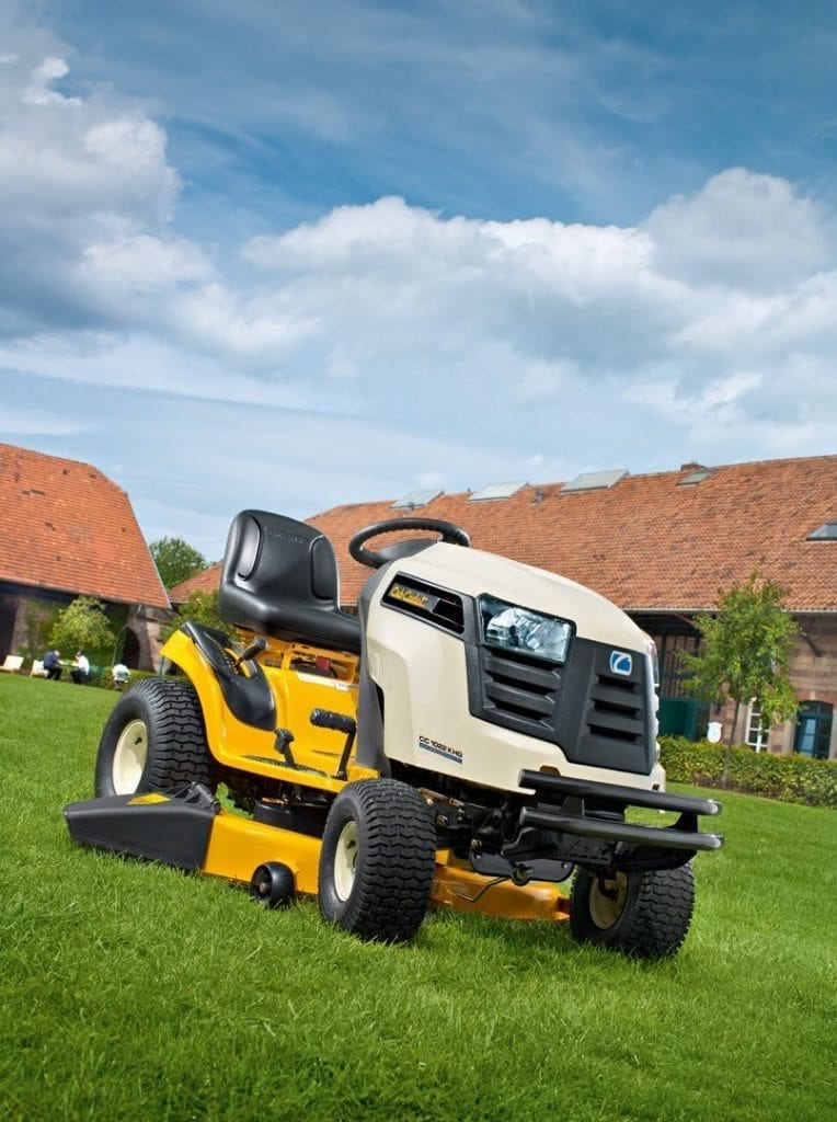 Ride on mowers at C&O Garden Machinery - Cub Cadet