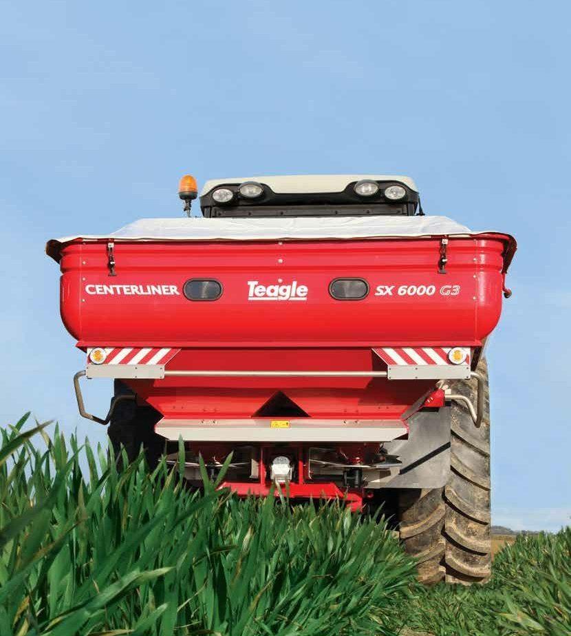 Teagle Centerliner fertiliser spreaders from C&O Tractors