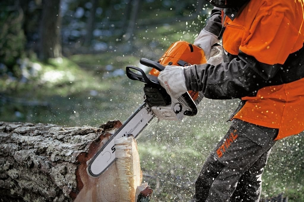 STIHL Chainsaws & Pole pruners at C&O Garden Machinery