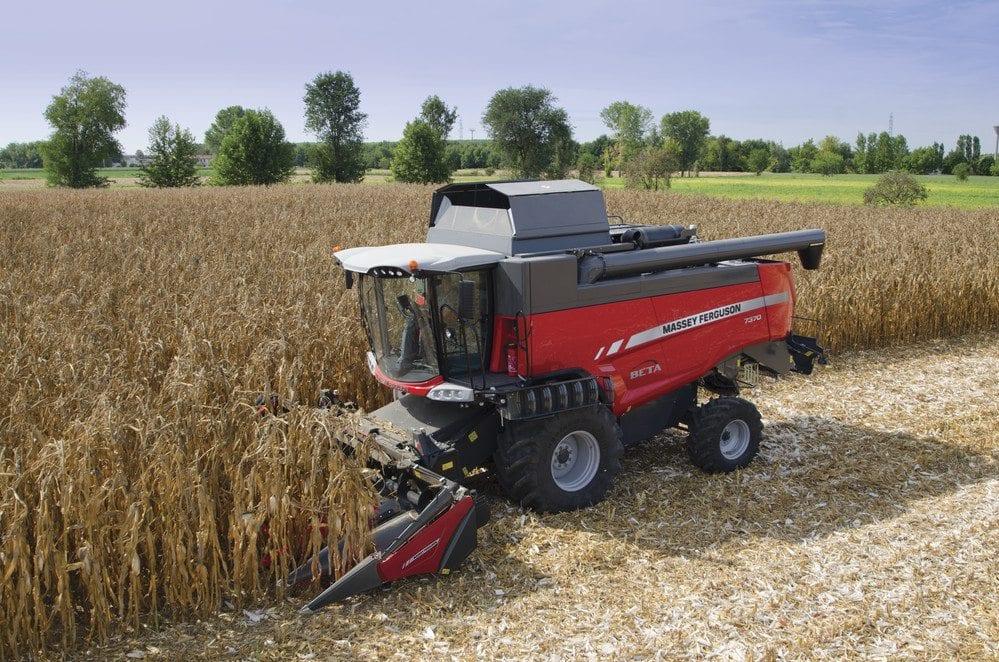 Massey Ferguson Beta Combines at C&O Tractors