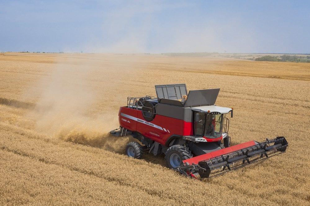 Massey Ferguson Combines at C&O Tractors - CENTORA