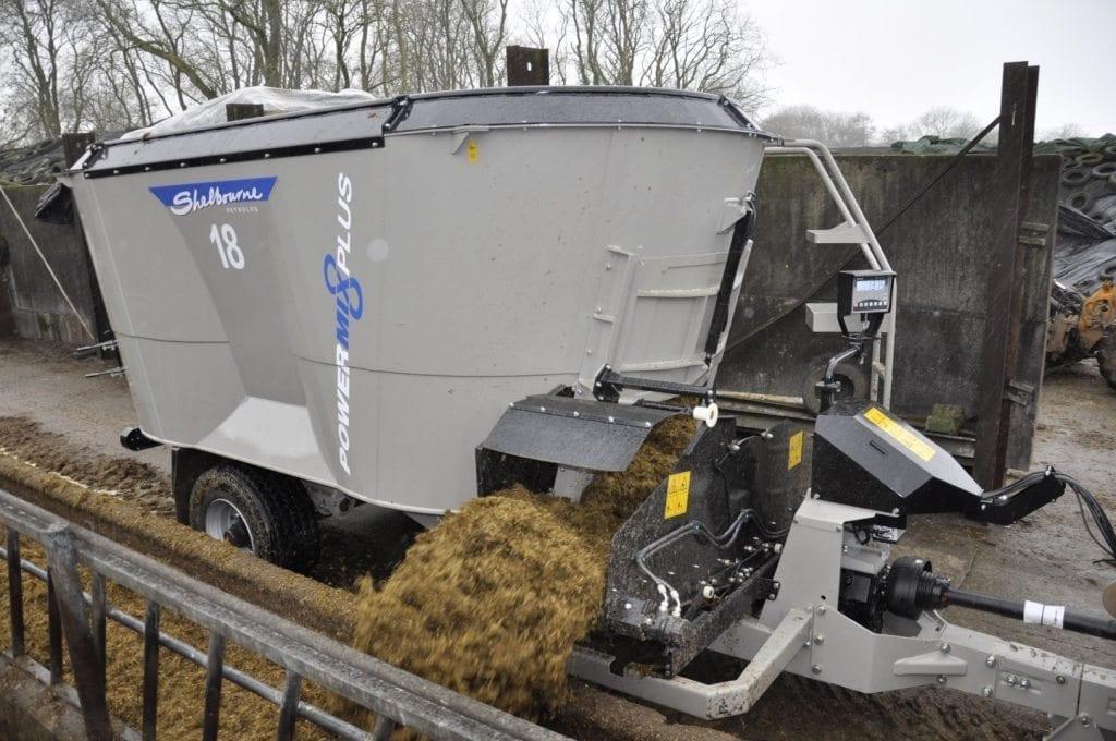 Forage & Livestock at C&O Tractors - Shelbourne Reynolds Powermix Plus
