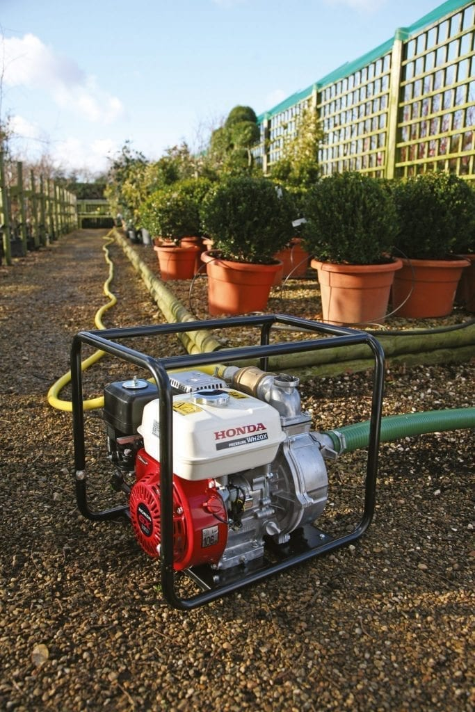 Honda Water Pumps at C&O Garden Machinery