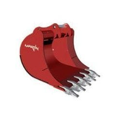Attachments from C&O Construction - Martin stone bucket