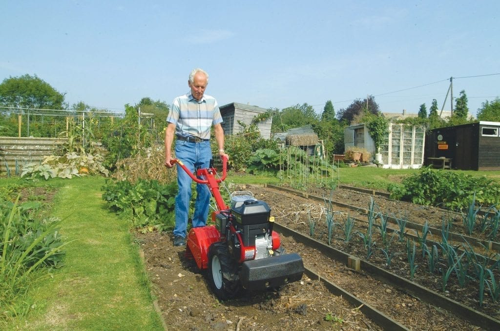 Garden Machinery Hire - Lawnflite tillers