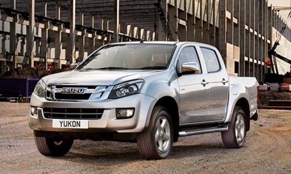 Isuzu pick-up trucks in West Sussex from C&O