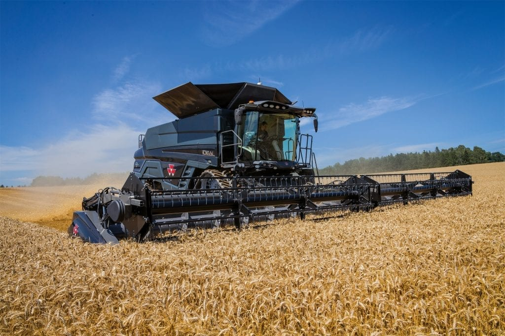 New IDEAL from Massey Ferguson Combine Harvesters