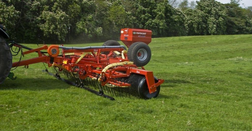 HE-VA Grass Roller