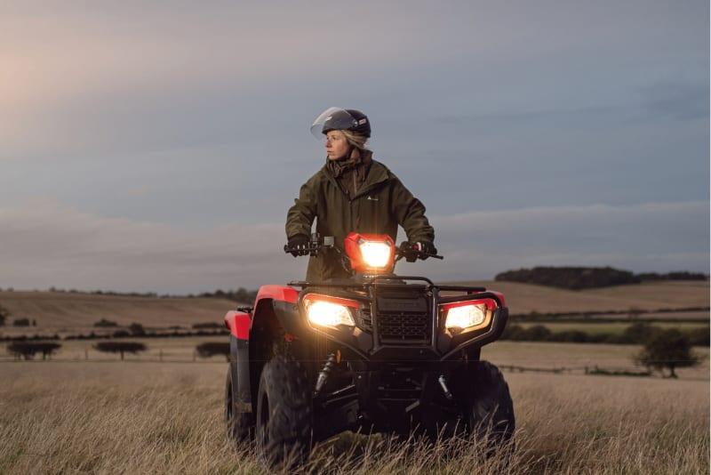 New Honda Foreman and Fourtrax ATVs