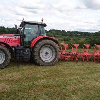 LR_Plough Unico 6 Furrow Massey Ferguson