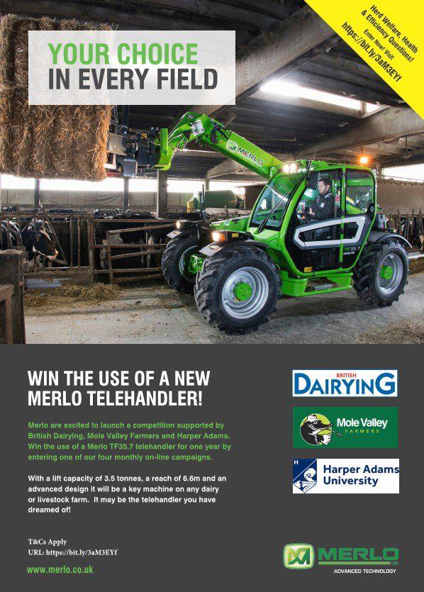 Win a Merlo telehandler